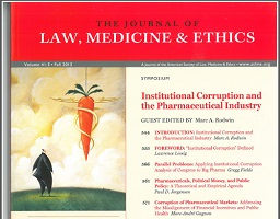 Journal of Law, Medicine and Ethics, 41(3), 665-672.