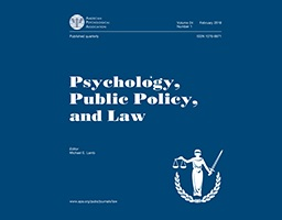 Psychology, Public Policy, and Law, 26(1), 88-104.